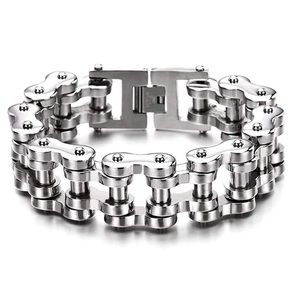 🦒Stainless Steel Motorcycle Chain Bracelet